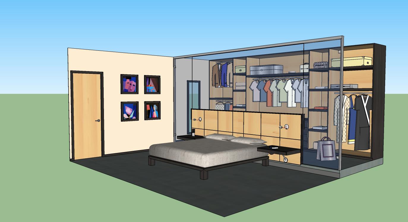 Arquitectura de interiorismo reformas y proyectos de for Interiores de dormitorios